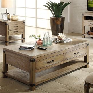Bay Cliff Rectangular Coffee Table