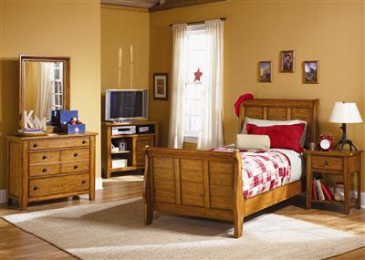 Title: Grandpas Cabin Youth Bedroom. Manufacturer: Liberty Furniture