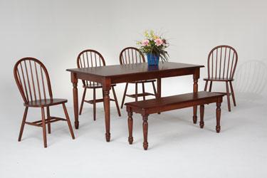 Solid Hardwood Table Furniture Store Bangor Maine