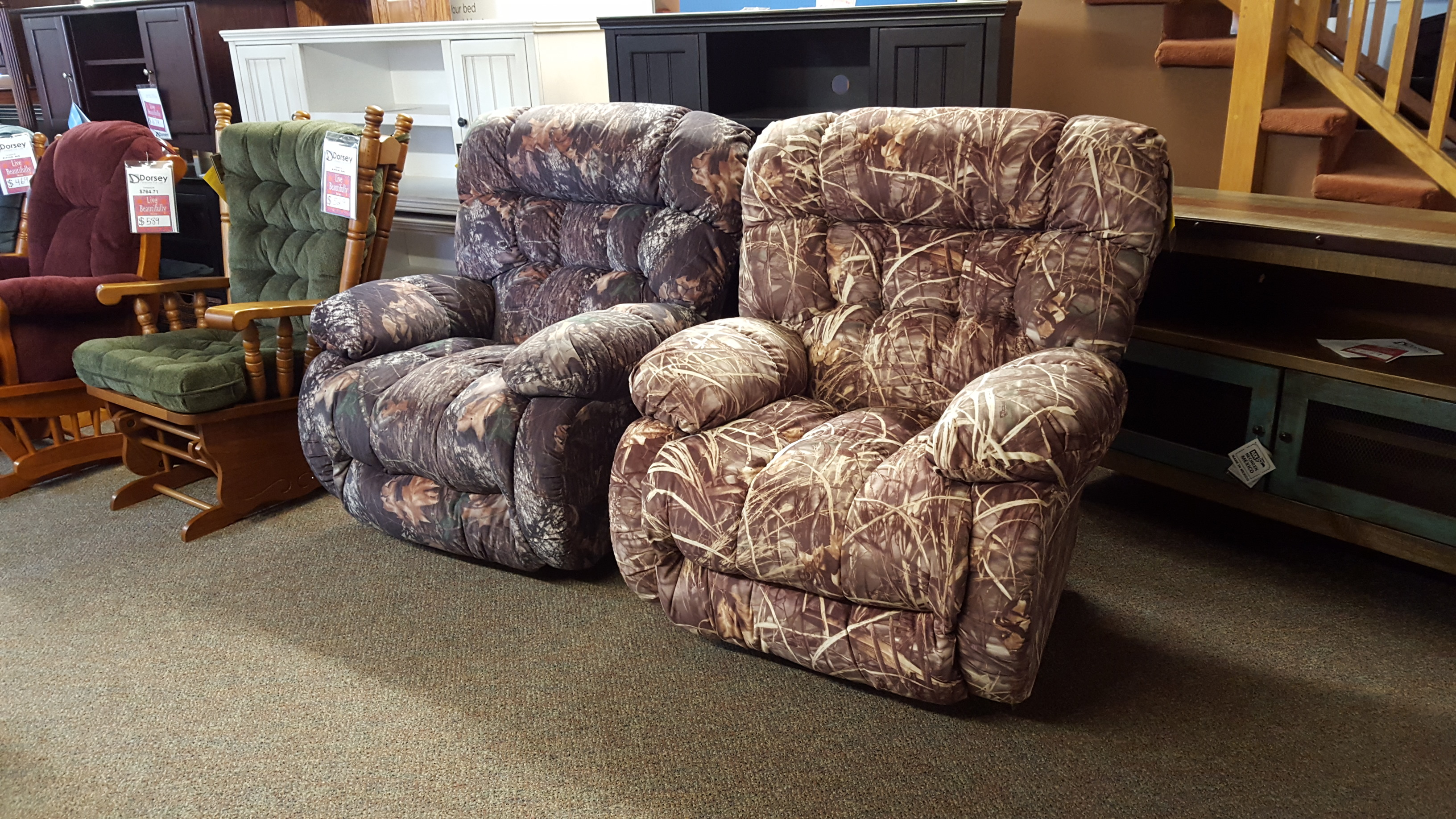 Best Chair Camo recliners!!! - Furniture Store Bangor ... - photo#49