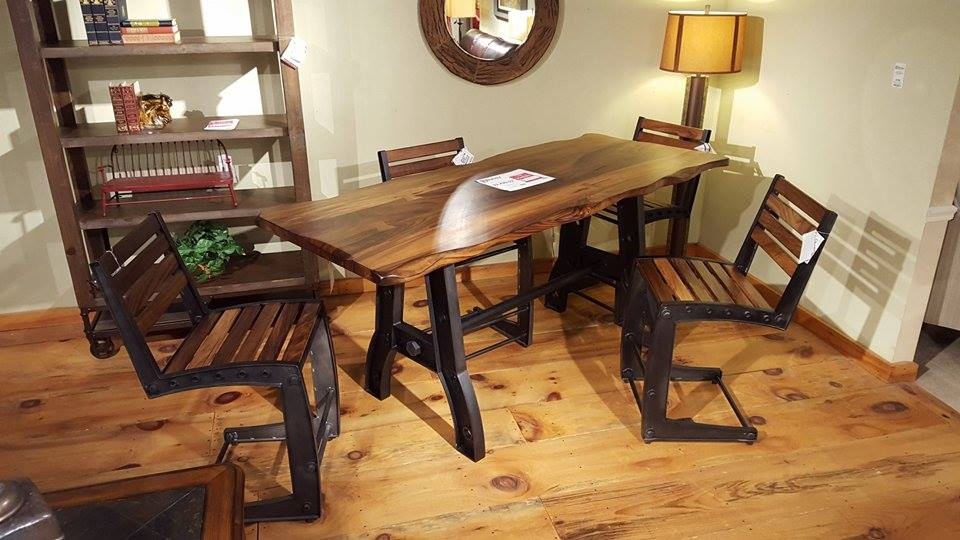 Stupendous 866 Parota High Dining Furniture Store Bangor Maine Beutiful Home Inspiration Ommitmahrainfo