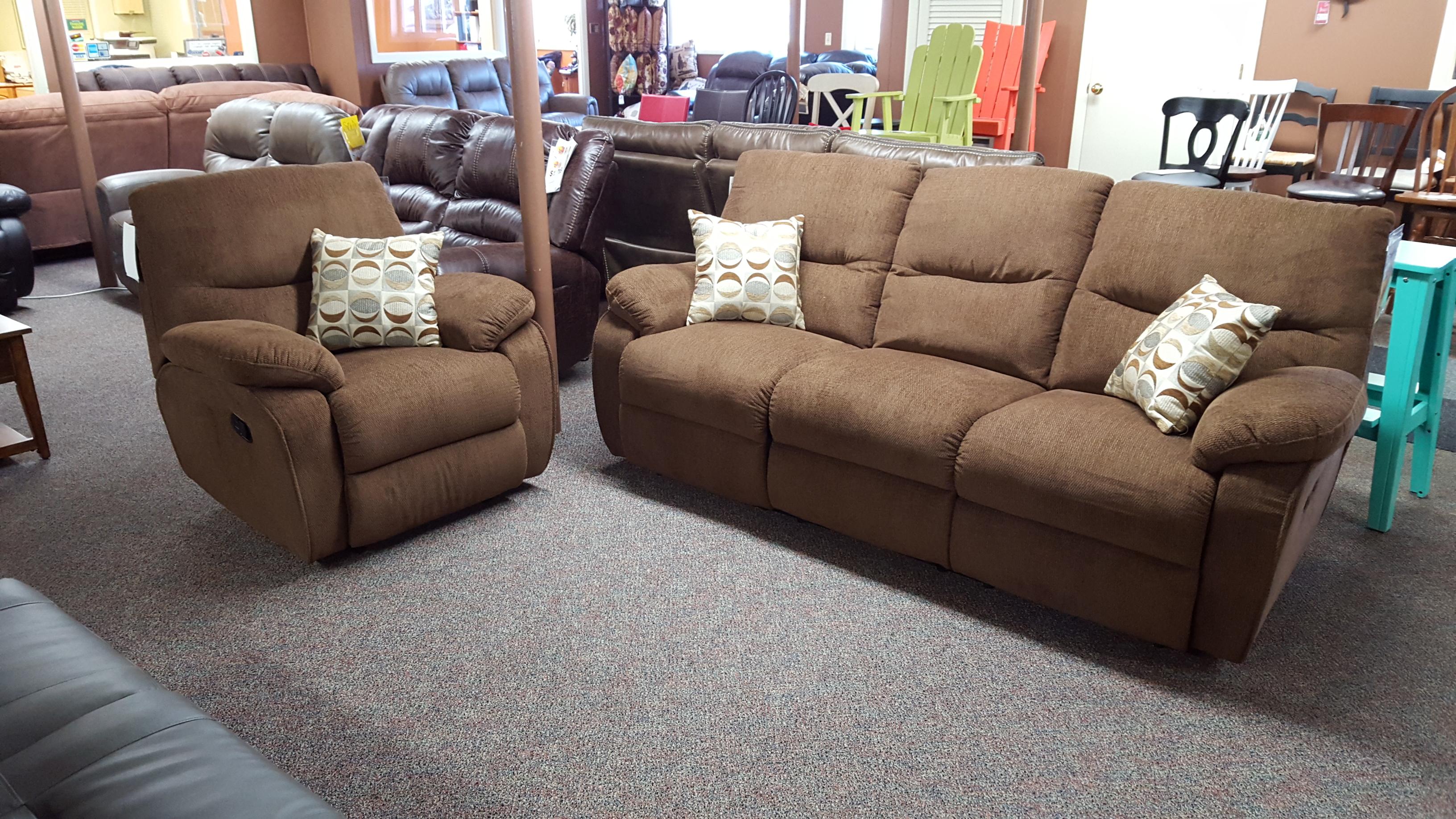 Warehousem 412 Reclining Set Furniture Store Bangor Maine Living Room Dining Room Bedroom