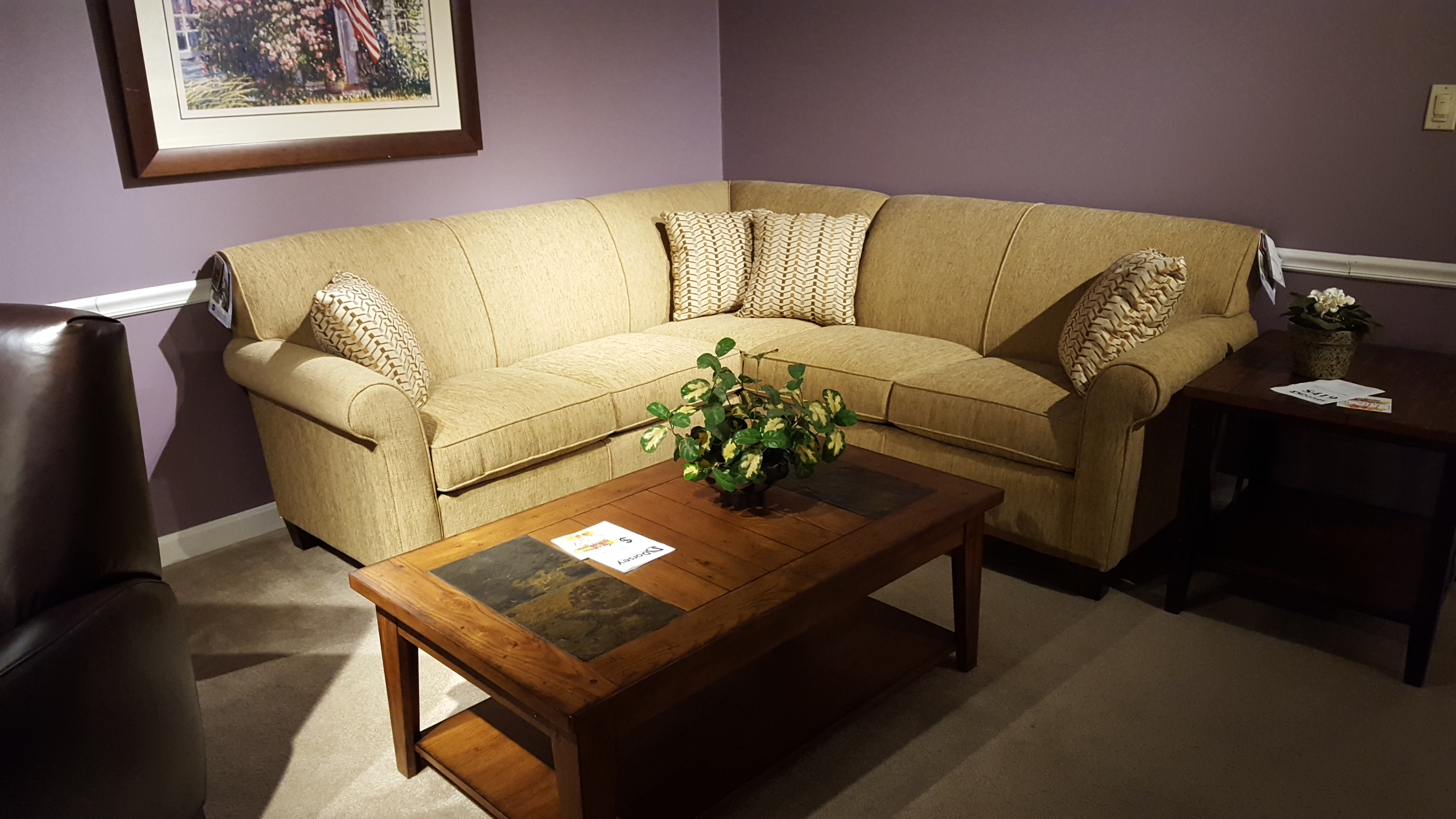 Flexsteel 5990 sectional - Furniture Store Bangor, Maine ... - photo#5