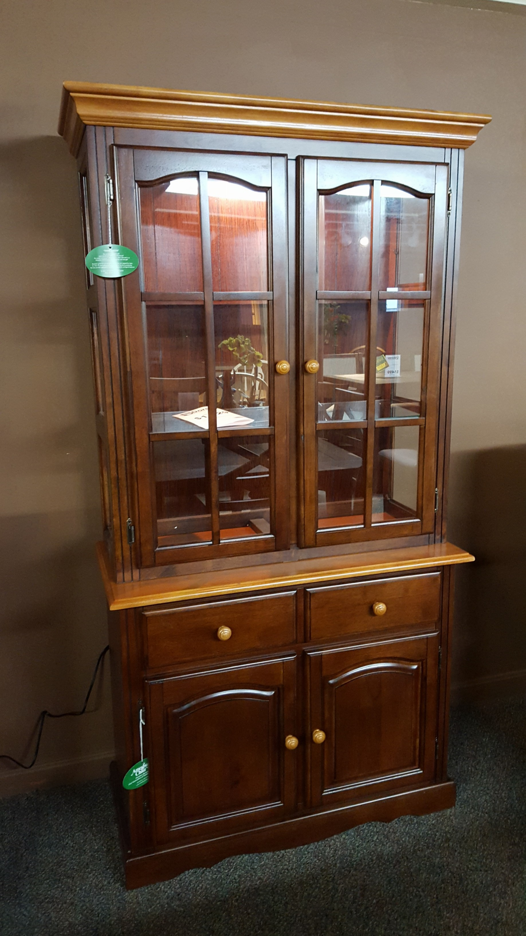B37ccn/ch37ccn Base And China Hutch - Furniture Store ...