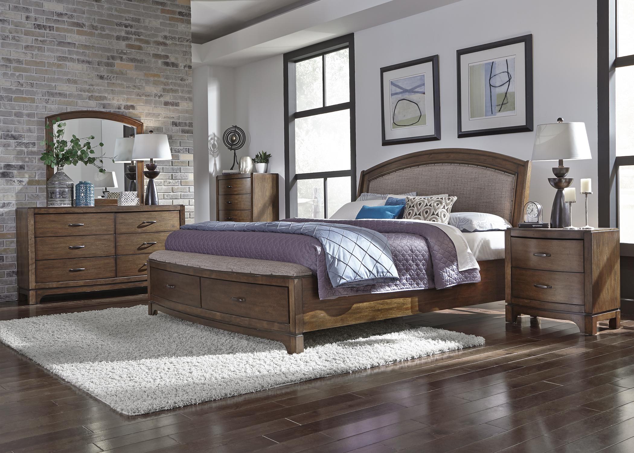 Liberty Furniture Bedroom Set Liberty Avalon Iii Bedroom 705 Bed Dresser Mirror Chest Nightstand