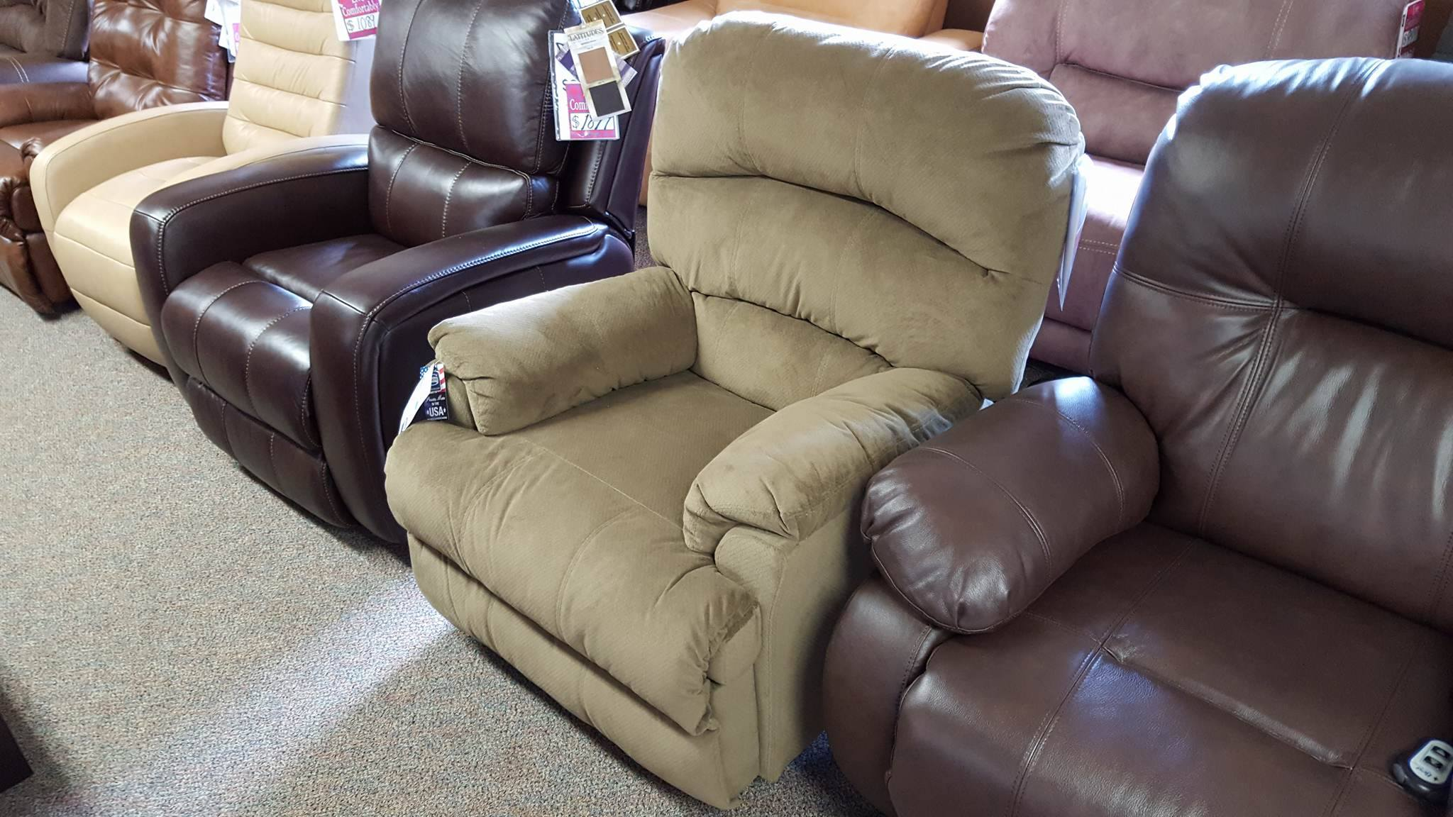 Simmons Medium Size Power 271 Recliner Multiple Colors