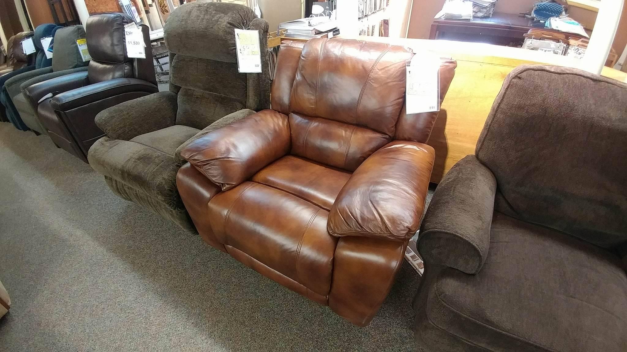 Flexsteel leather 1231 50 Recliner 657 74