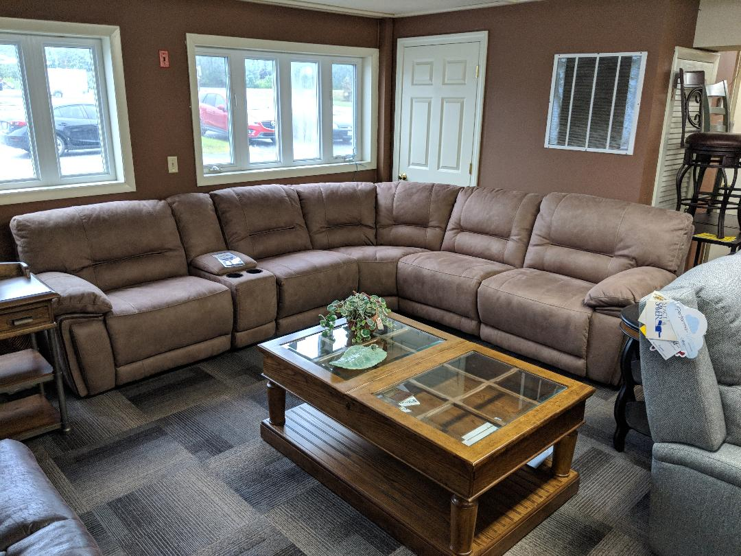 Warehouse M 10961 Power Reclining Sectional With or ... - photo#44